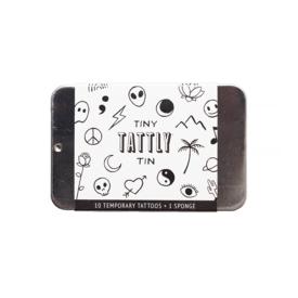 Tattly Tattly Tattoo Tiny Tin - Flash Art