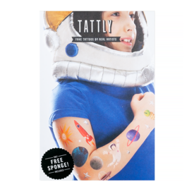 Tattly Tattly Tattoo Set - Space Explorer