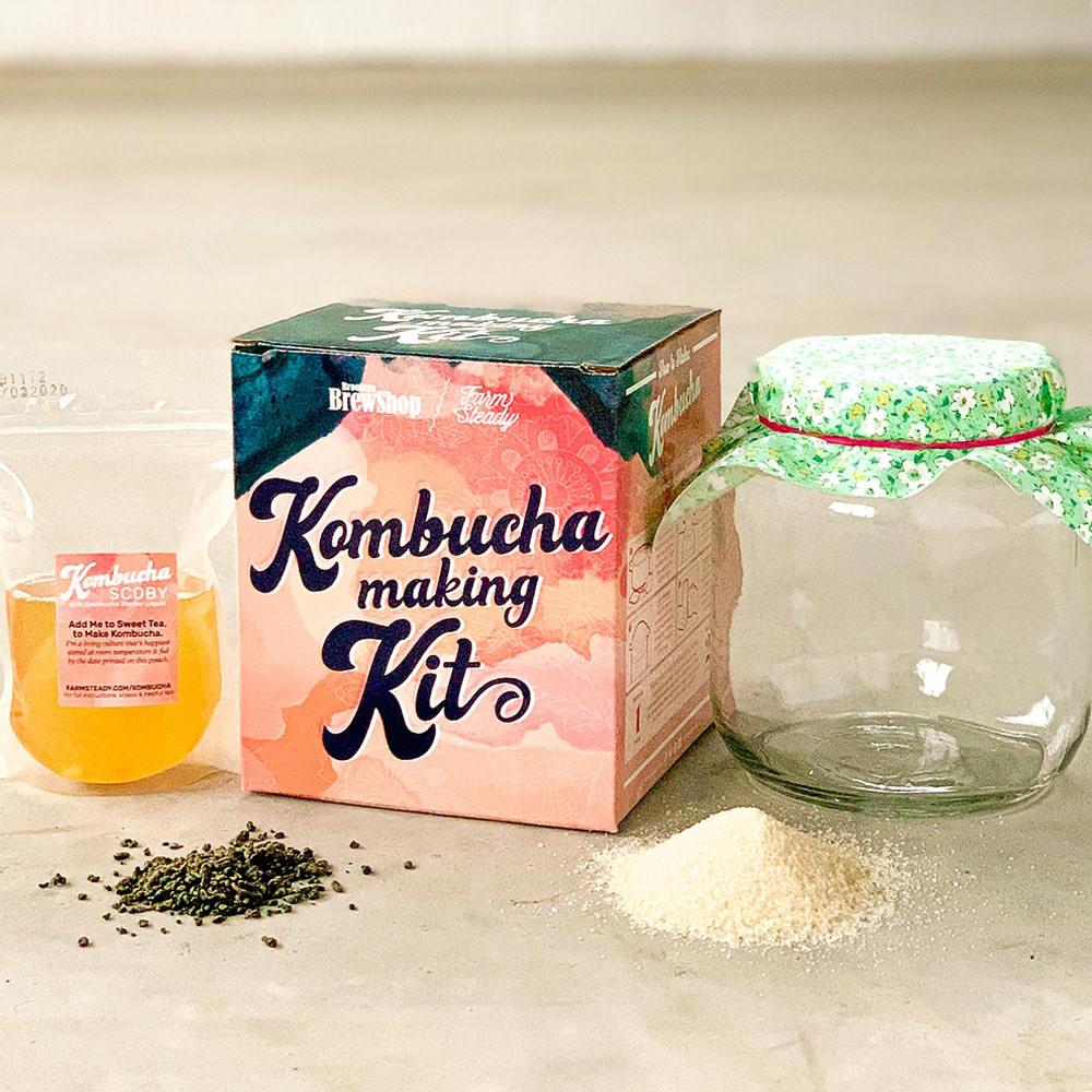 FarmSteady FarmSteady - Kombucha Making Kit