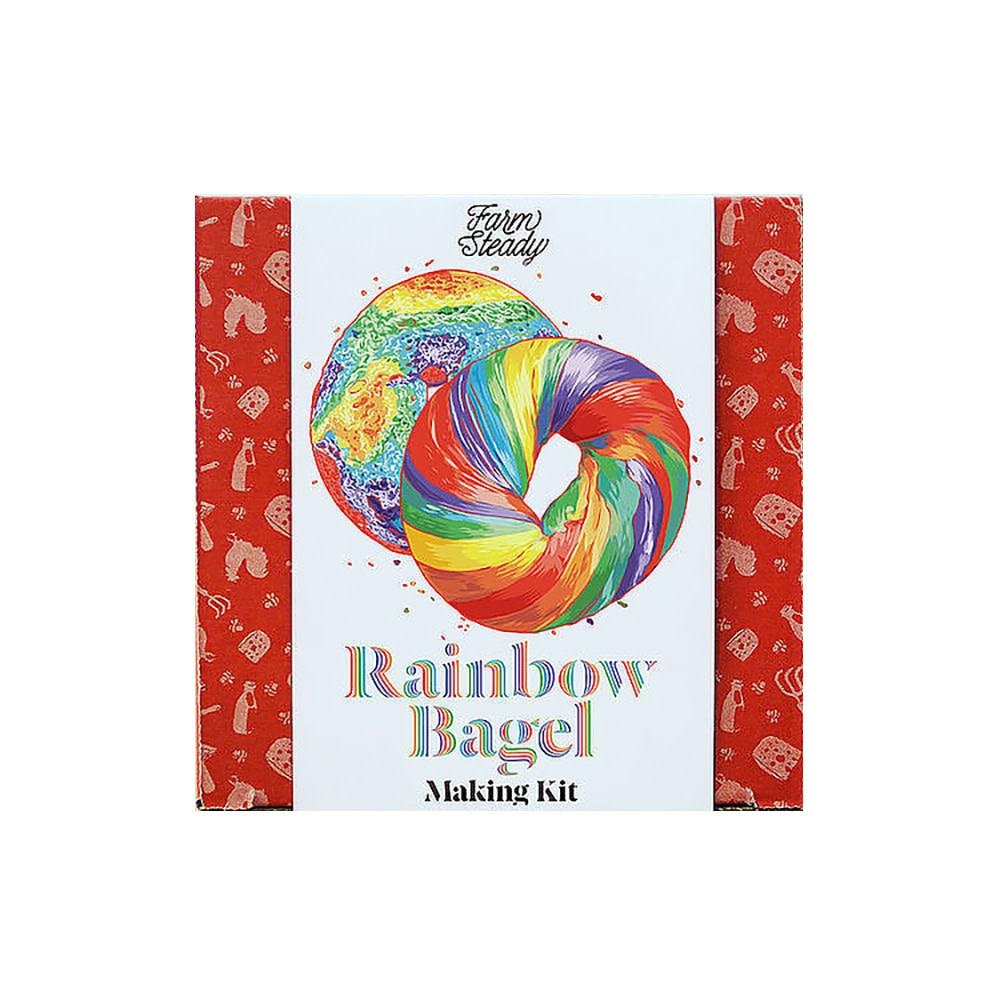 FarmSteady FarmSteady - Rainbow Bagel Making Kit