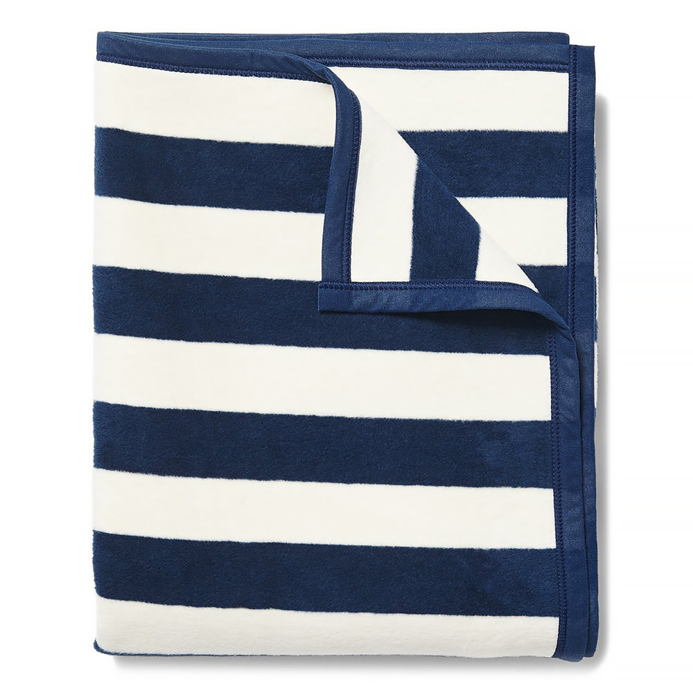 Chappywrap Blanket - Classic Navy Stripe