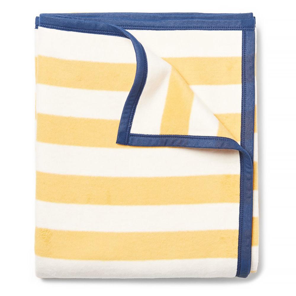 Chappywrap Chappywrap Blanket - Classic Yellow Stripe
