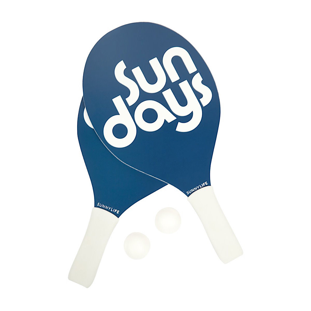 Sunnylife Sunnylife Beach Bats Nouveau Bleu - Indigo