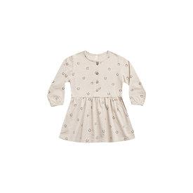 Rylee + Cru Rylee + Cru Button Up Jersey Dress - Horseshoes Stone