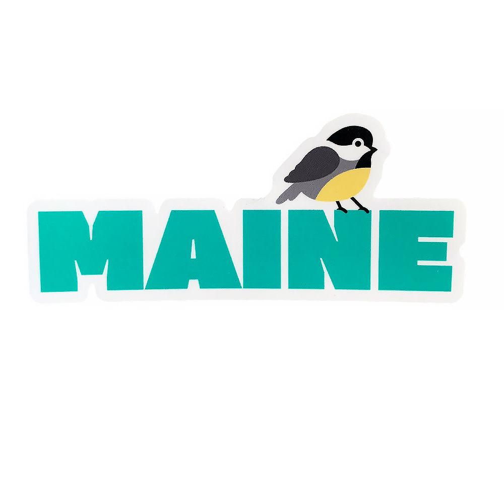 Maine Chickadee Sticker
