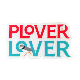Mary Reed Plover Lover Sticker
