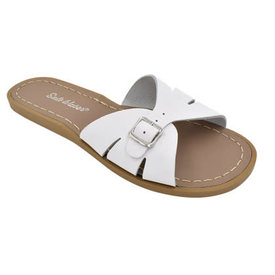 Salt Water Sandals Salt Water Sandals Adult Classic Slides - White