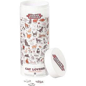 Wild & Wolf Cat Lovers 1000 Piece Puzzle