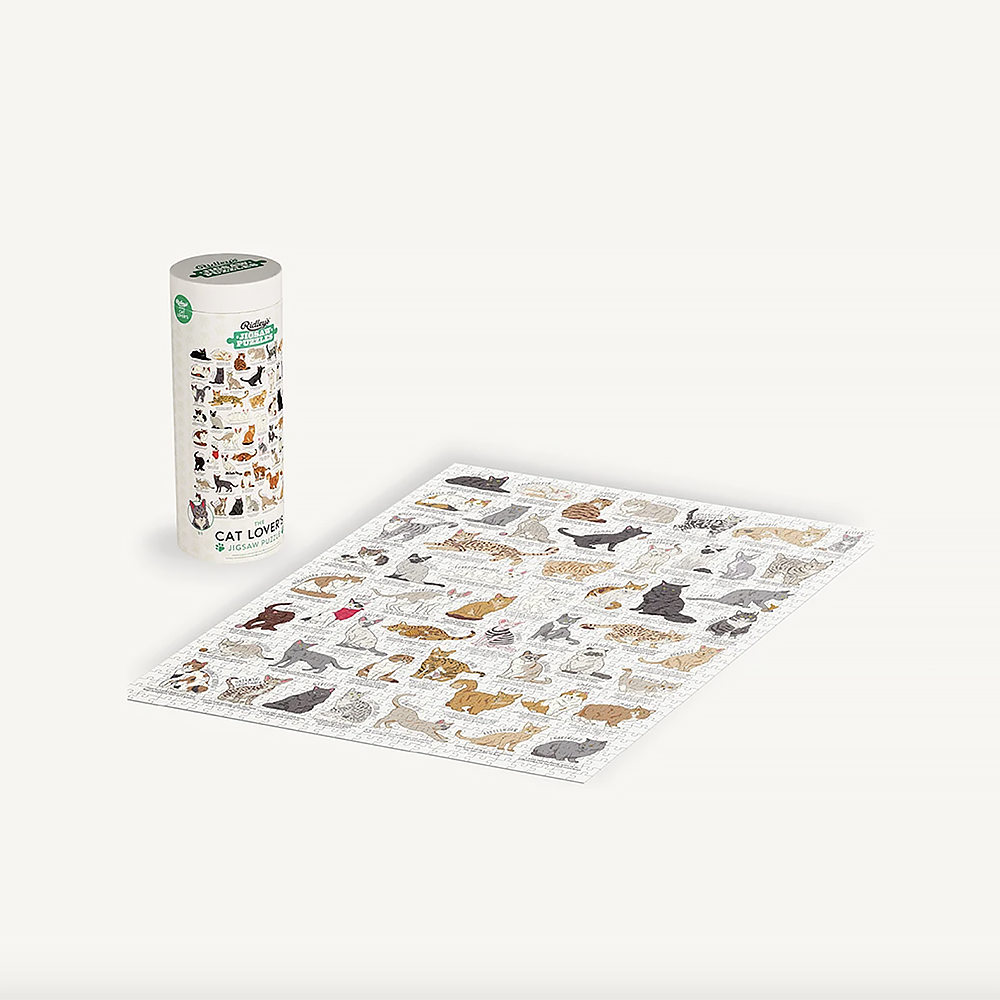 Cat Lovers 1000 Piece Puzzle