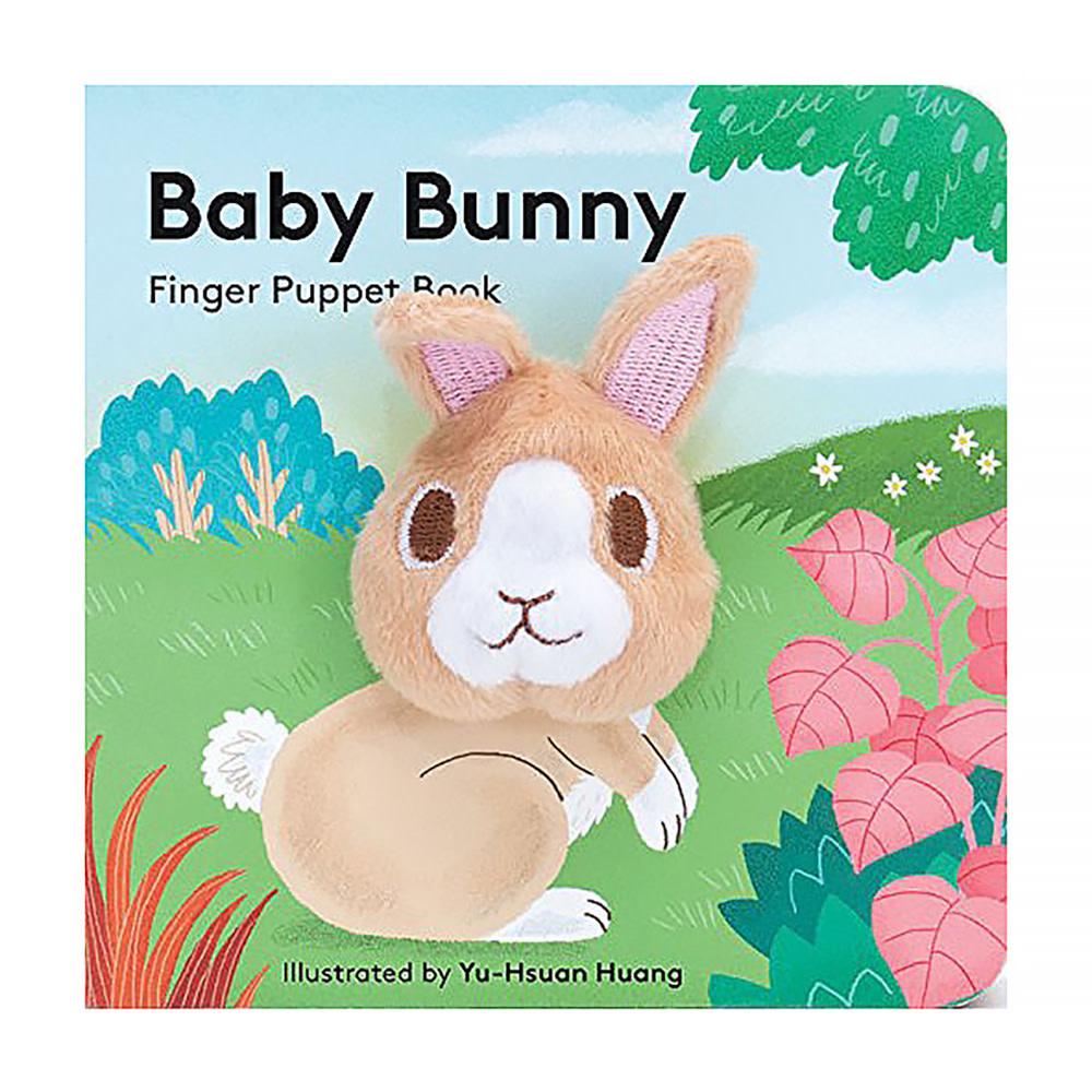 Chronicle Baby Bunny - Finger Puppet Board Book