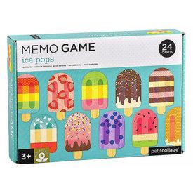 Petit Collage Petit Collage Memory Game - Ice Pops