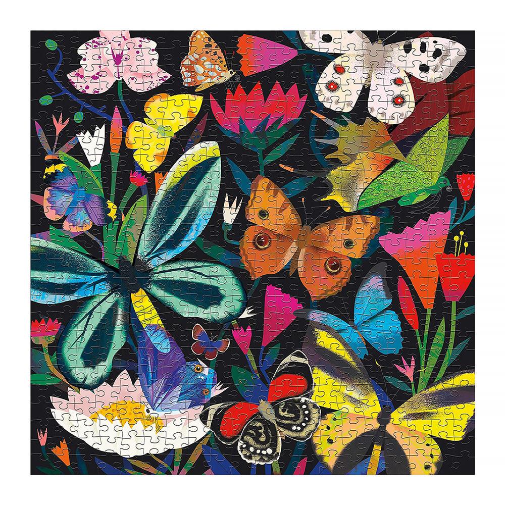 Butterflies Illuminated 500 Piece Glow in the Dark