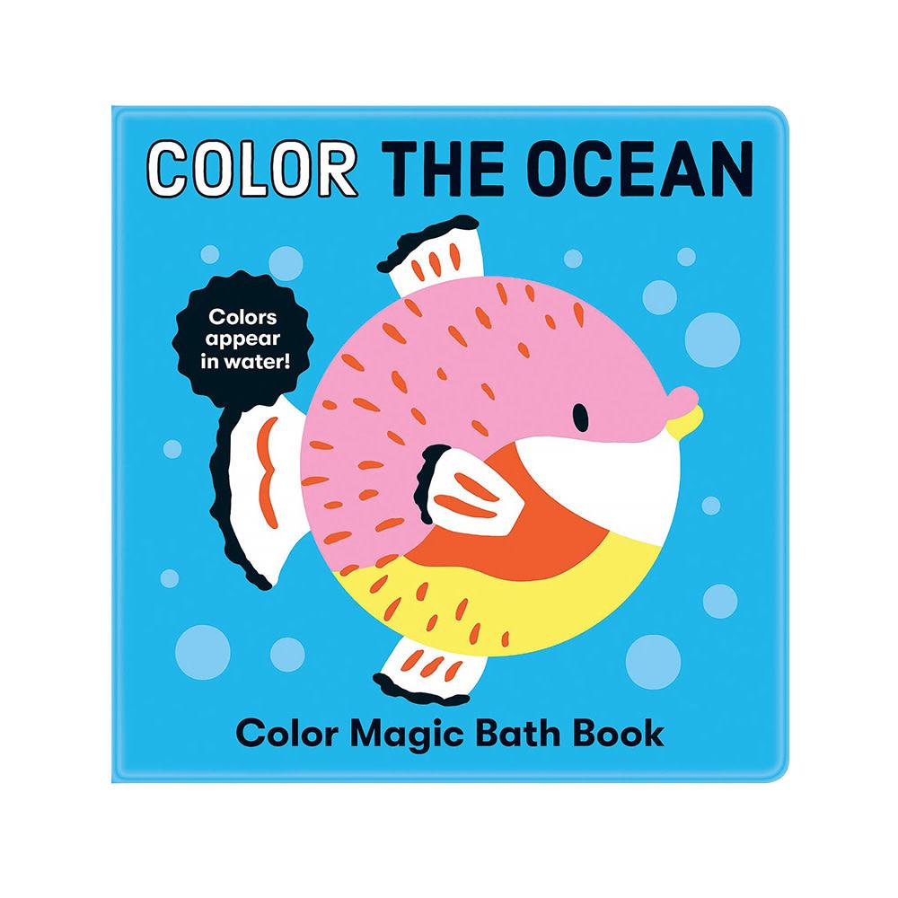 Color the Ocean Color Magic Bath Book