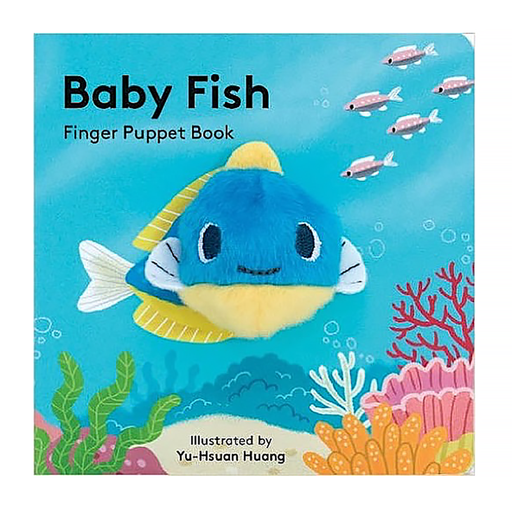 Chronicle Baby Fish - Finger Puppet Book