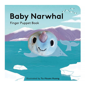 Chronicle Baby Narwhal - Finger Puppet Board Book