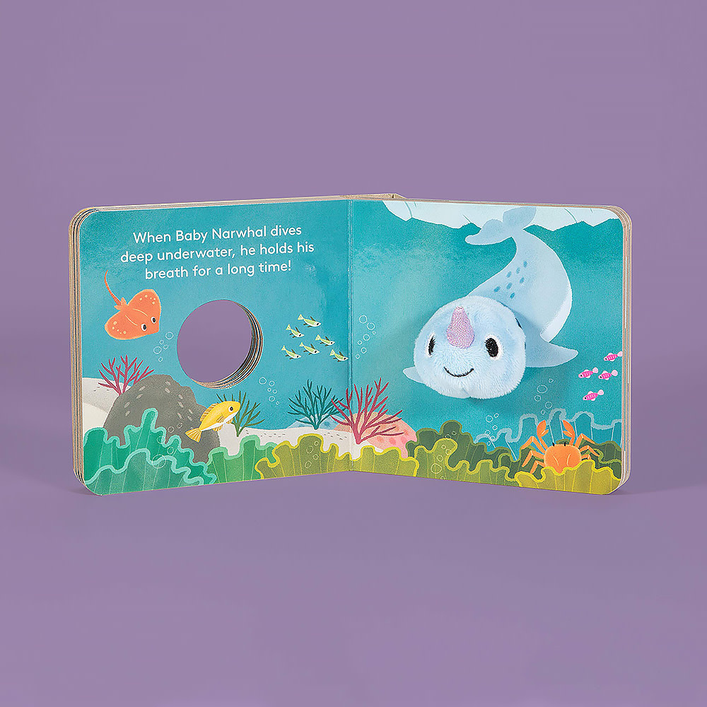Baby Narwhal - Finger Puppet Board Book