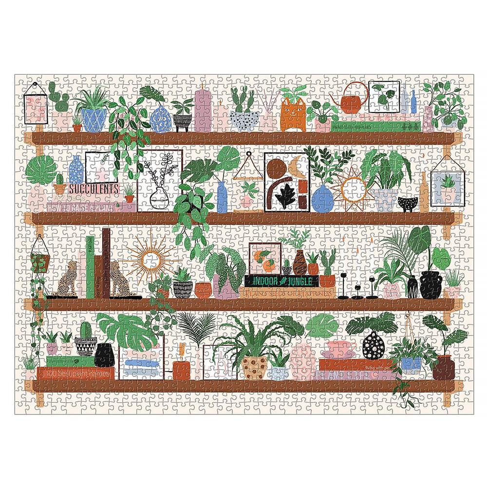 Plant Shelfie 1000 Piece Jigsaw Puzzle