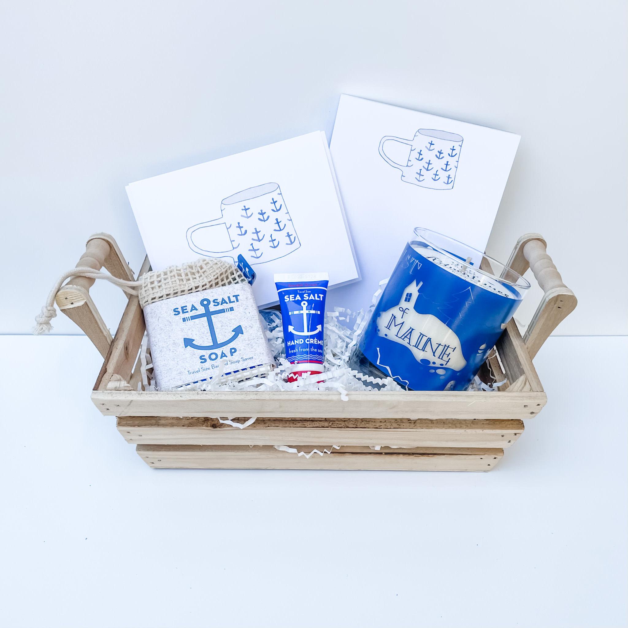Daytrip Society Gift Basket - Nautical