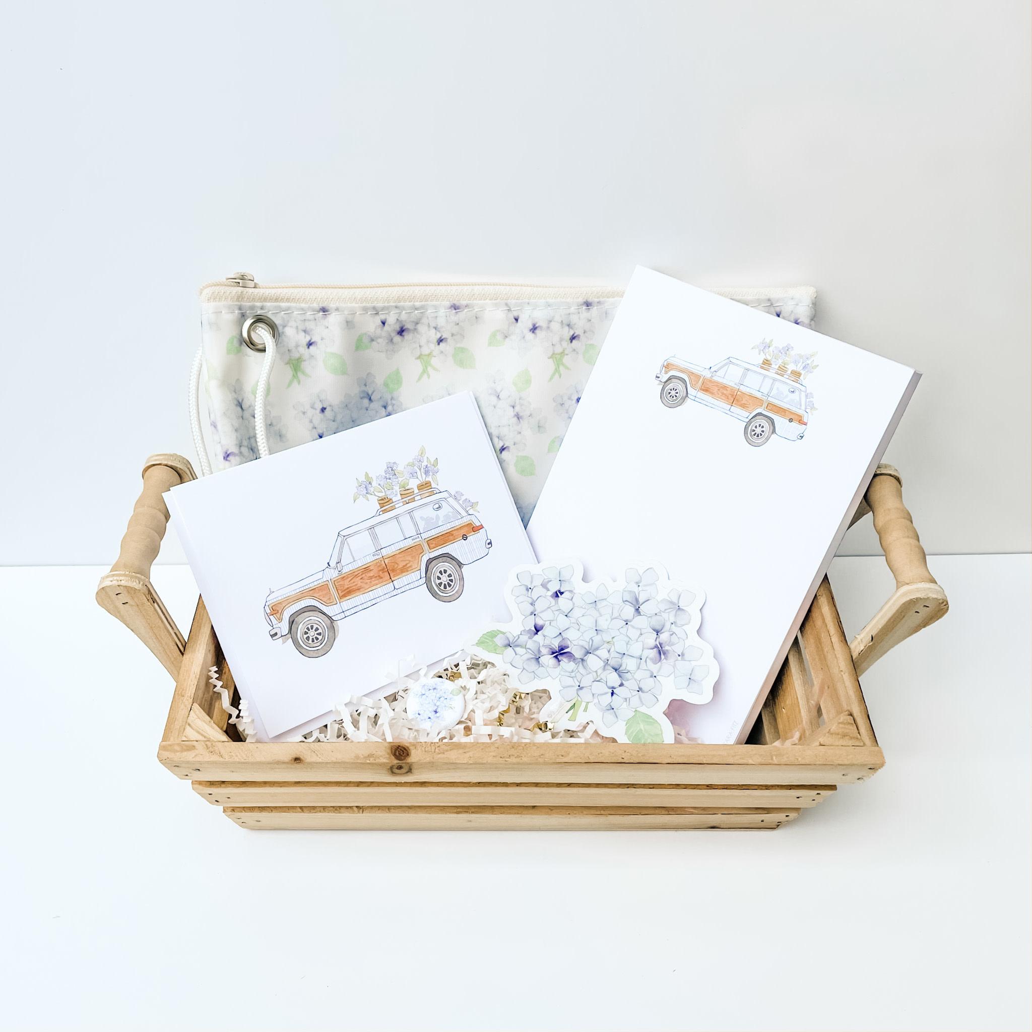 Gift Basket - Sara Fitz Hydrangea