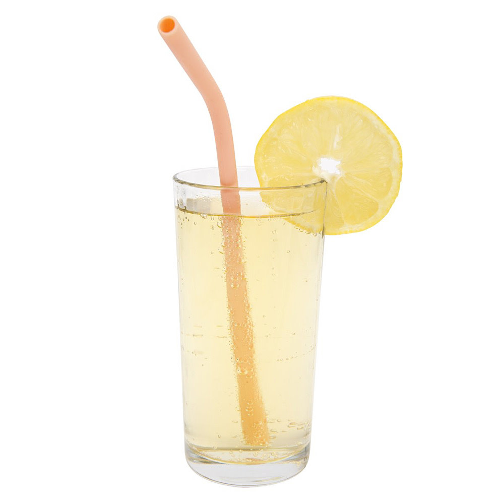 Sunnylife Reusable Silicone Straws - Set of 4
