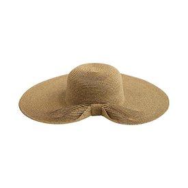 San Diego Hat Company Ultrabraid Gathered Back Floppy Hat - Natural