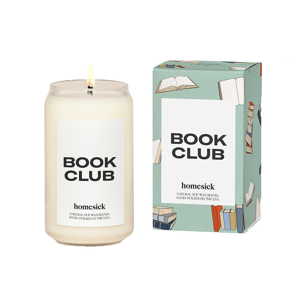 Home Sick Candles - Book Club Candle