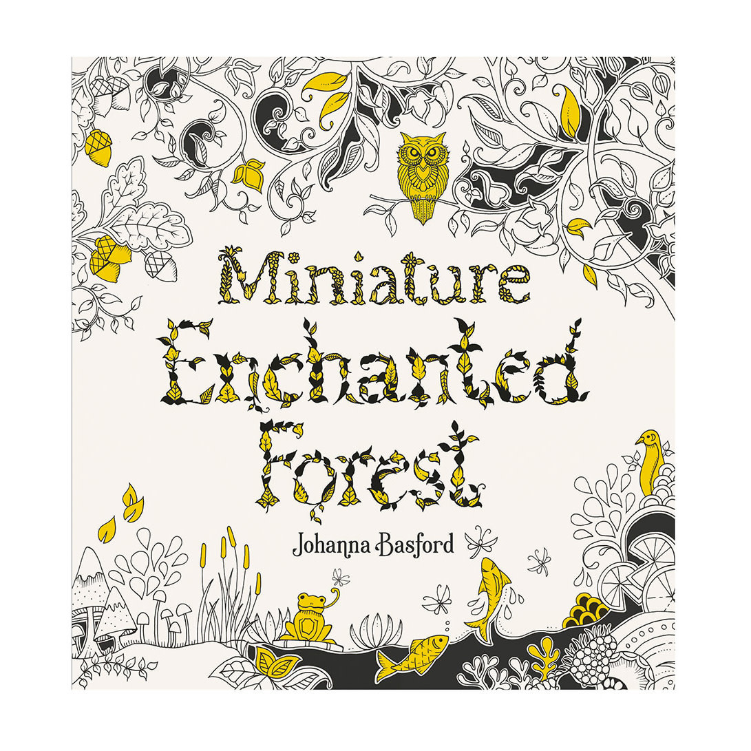 Chronicle Miniature Enchanted Forest Coloring Book