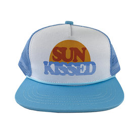 Tiny Whales Tiny Whales Sun Kissed Hat - Light Blue