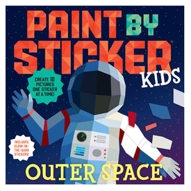 Workman Publishing Company Paint By Sticker Outer Space