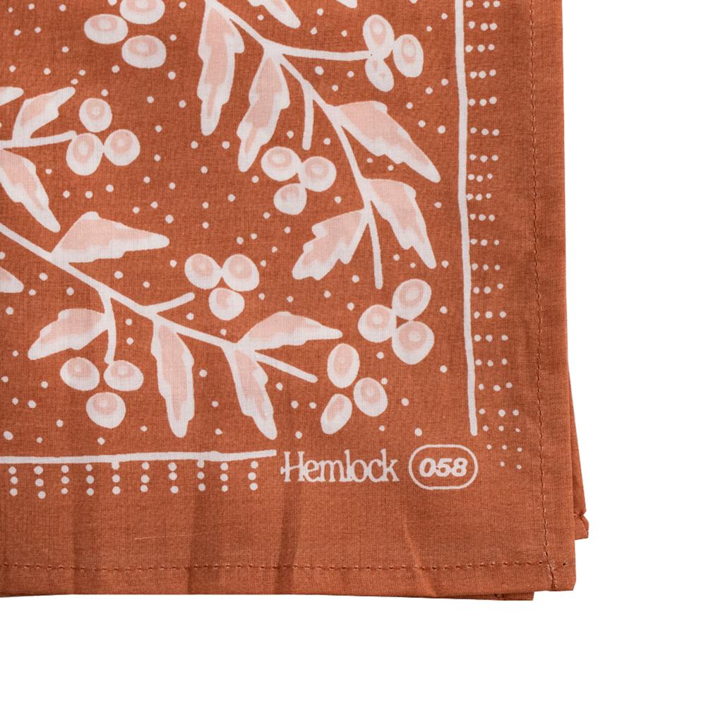 Hemlock Bandana - No. 058 Terra