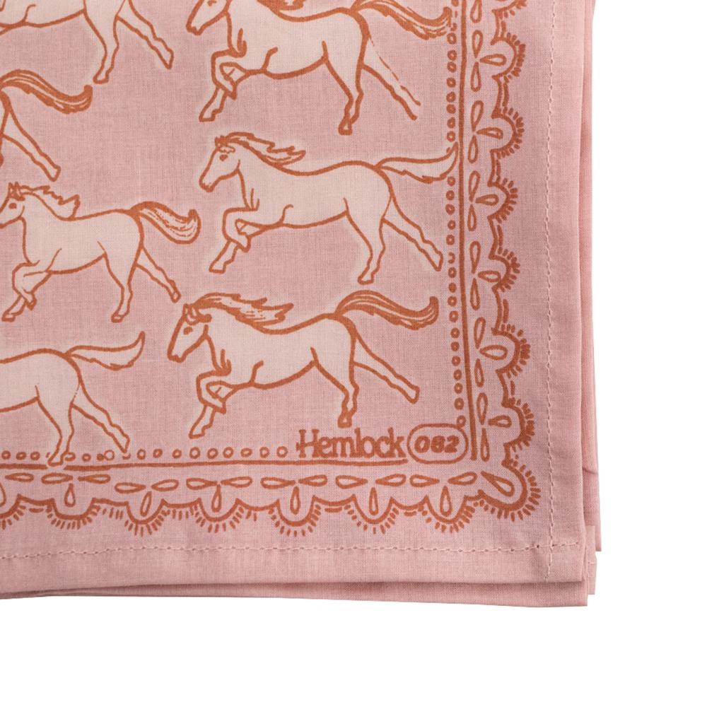 Hemlock Bandana - No. 062 Horses
