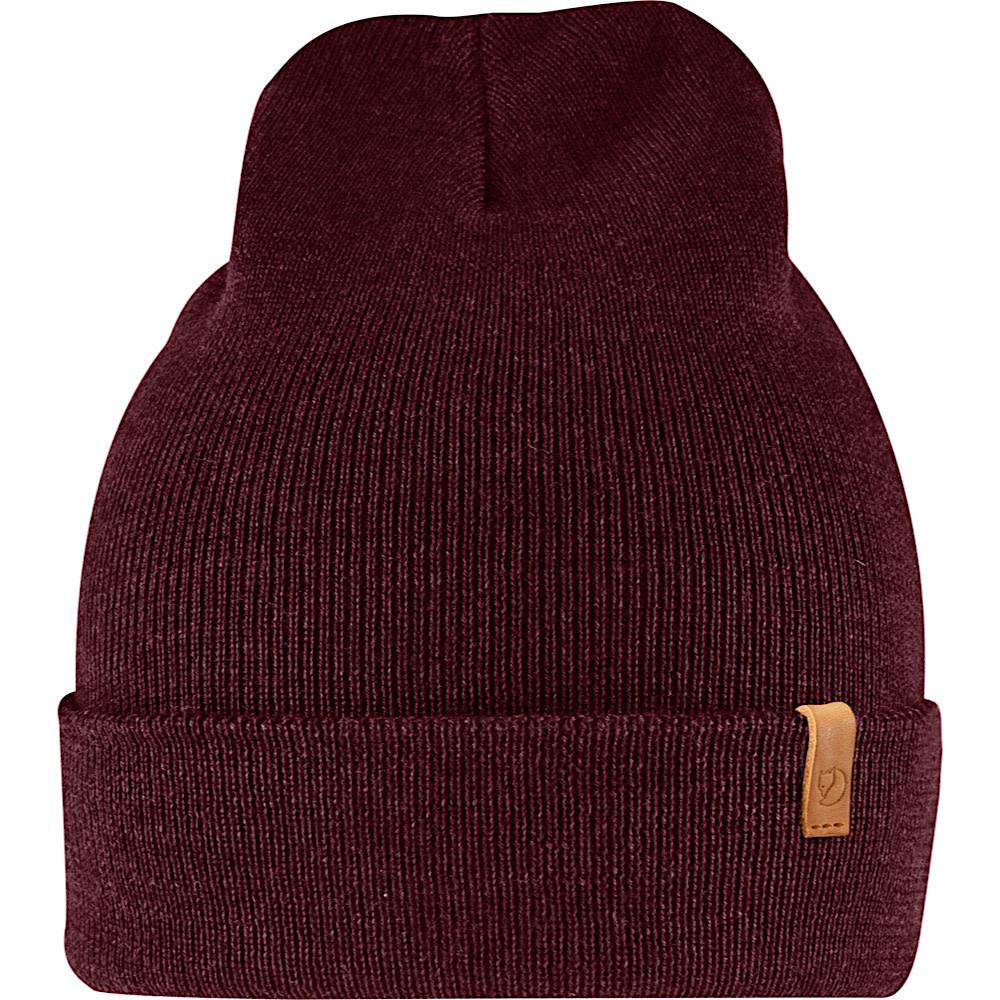 Fjallraven Classic Knit Hat - Dark Garnet