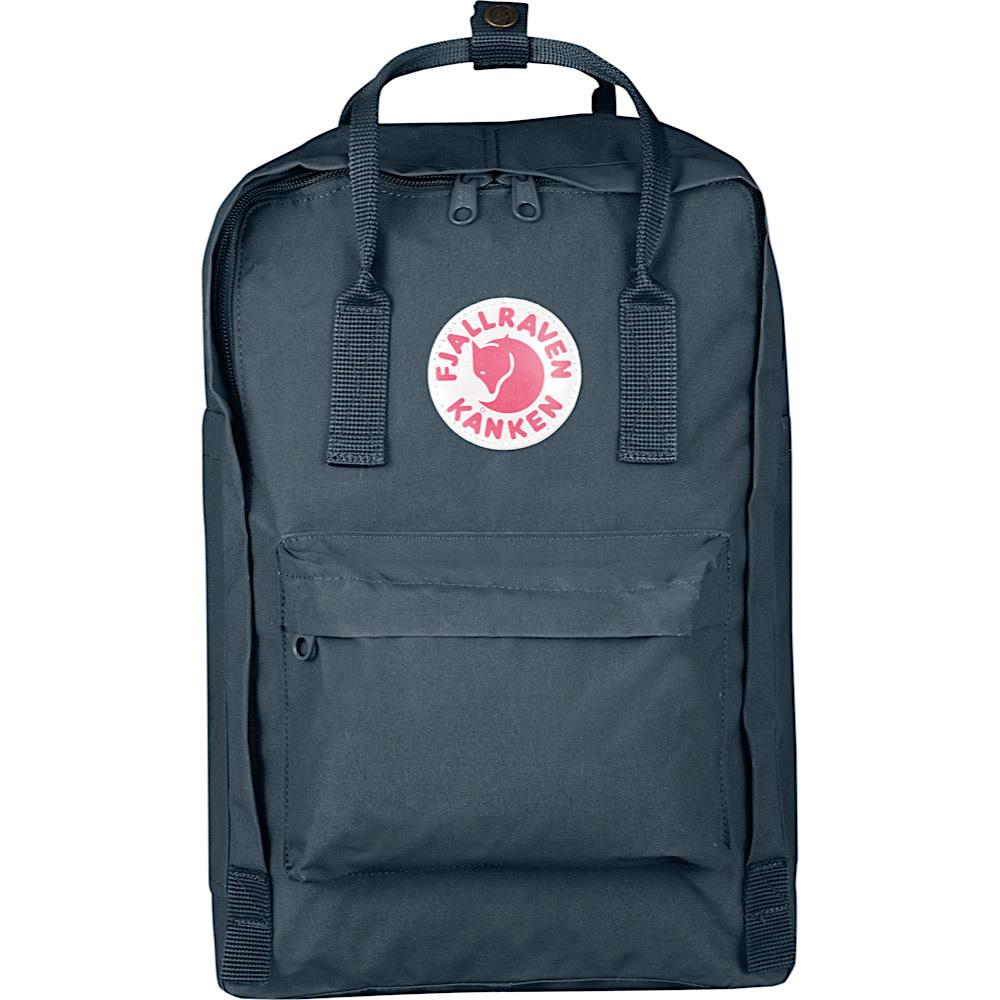 "Fjallraven Kanken 15"" Laptop Backpack - Graphite"