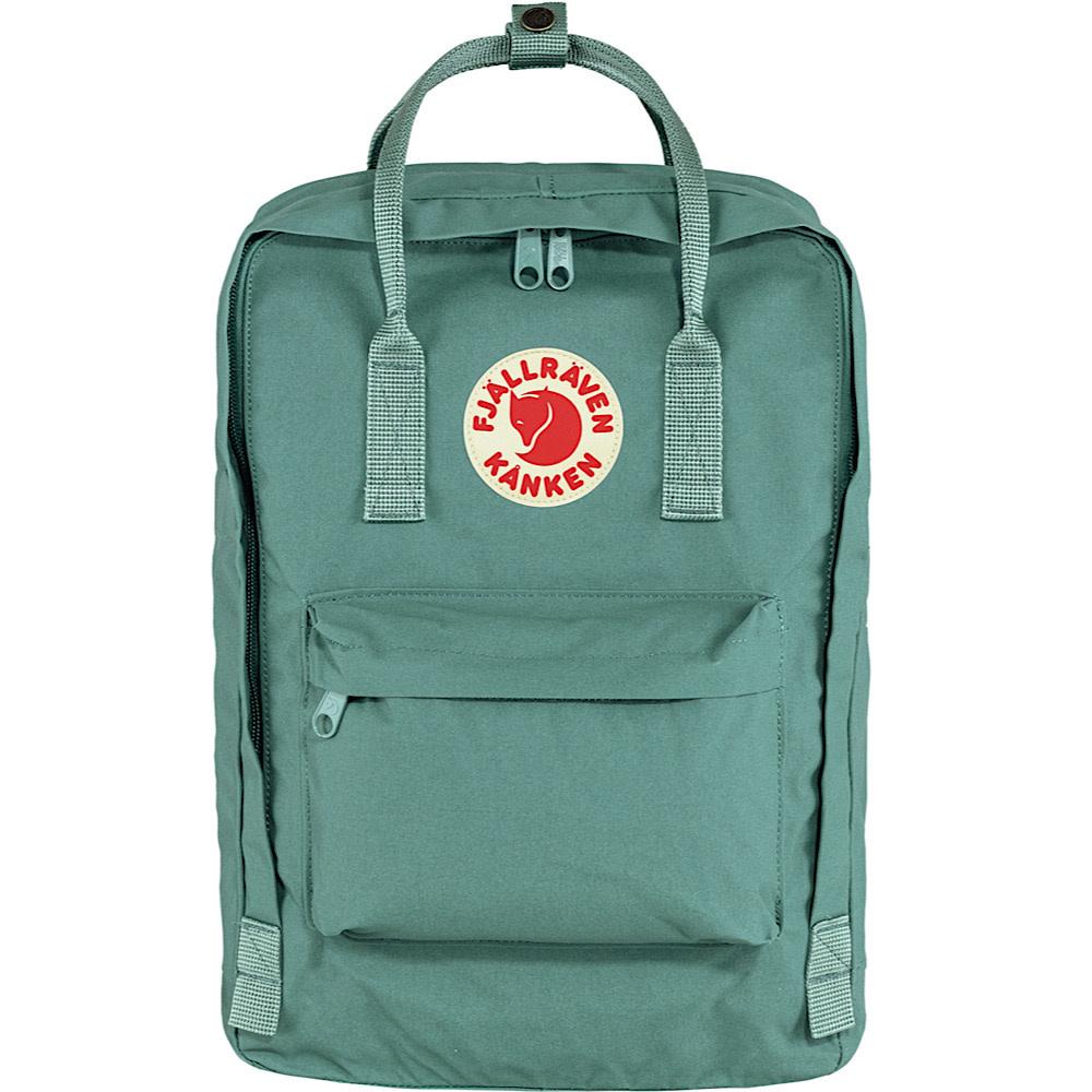 "Fjallraven Kanken 15"" Laptop Backpack - Frost Green"