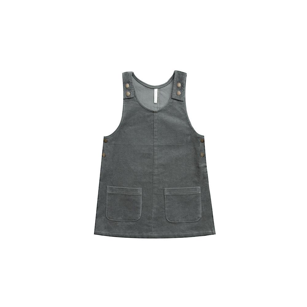 Rylee + Cru Odette Overall Dress - Indigo