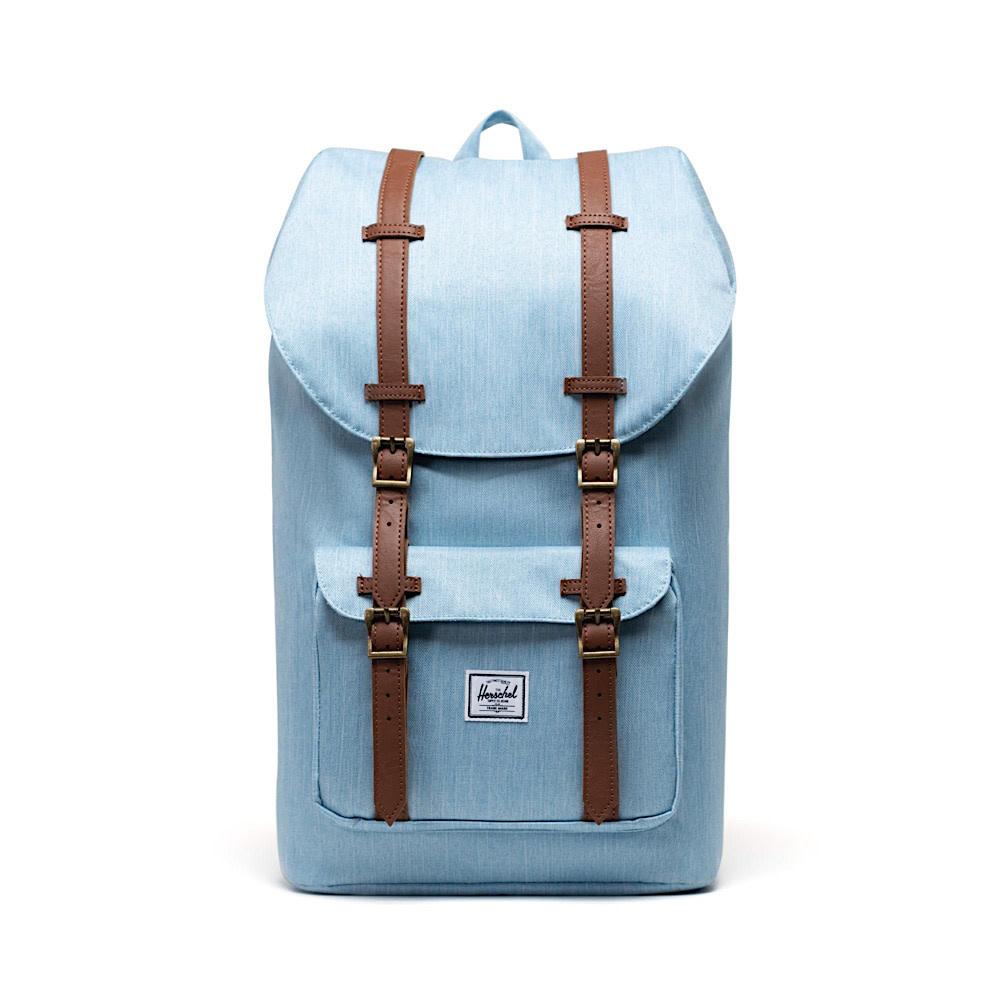 Herschel Little America Backpack - Light Denim Crosshatch