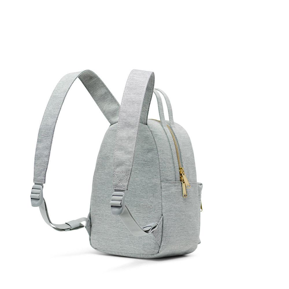 Herschel Nova Mini Backpack - Light Grey Crosshatch