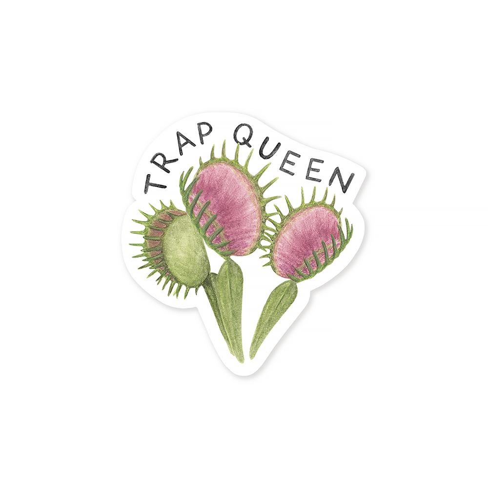 Amy Zhang - Trap Queen Sticker