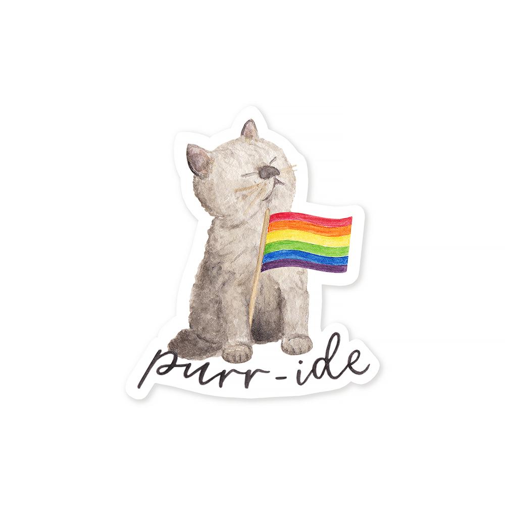Amy Zhang - Purr-ide Sticker