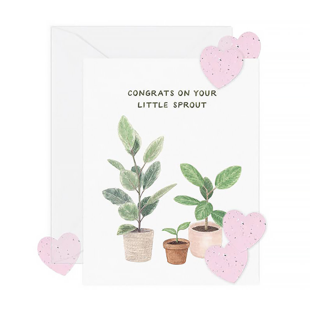 Amy Zhang Amy Zhang Card - Little Sprout New Baby