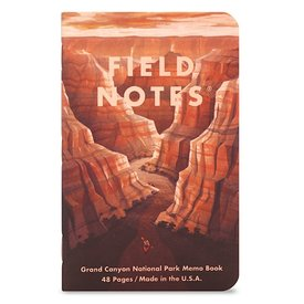 Field Notes Field Notes - National Parks 3 Pack - Grand Canyon, Joshua Tree, Mt. Rainier