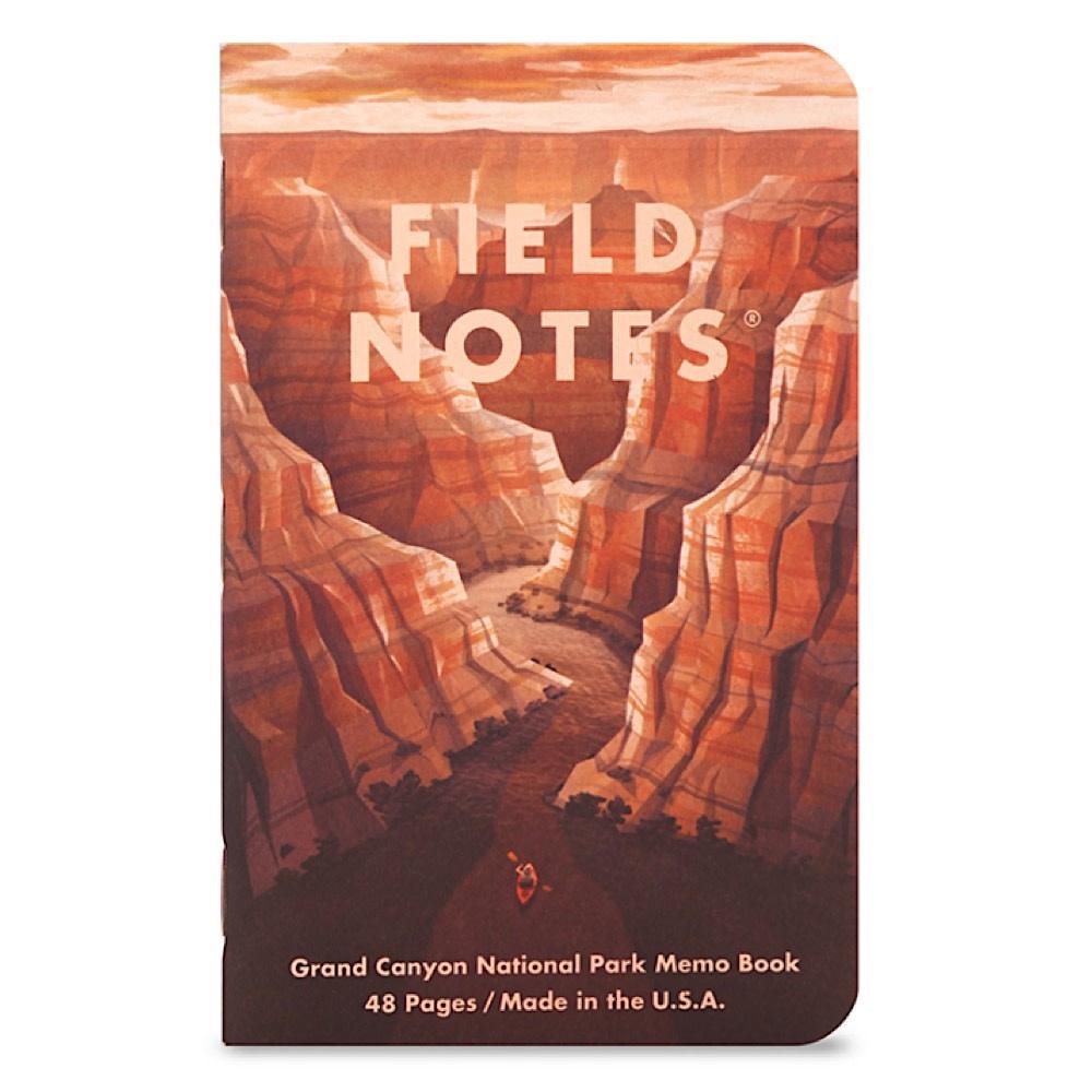 Field Notes - National Parks 3 Pack - Grand Canyon, Joshua Tree, Mt. Rainier