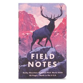 Field Notes Field Notes - National Parks 3 Pack - Rocky Mtn, Great Smoky Mtns, Yellowstone