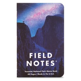 Field Notes Field Notes - National Parks 3 Pack - Yosemite, Acadia, Zion
