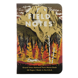 Field Notes Field Notes - National Parks 3 Pack - Grand Teton, Arches, Sequoia