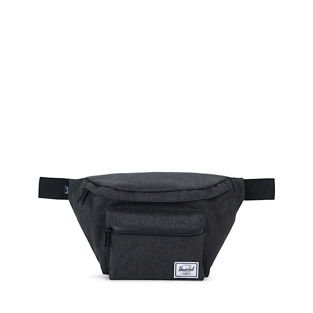 Herschel Seventeen Hip Pack - Black Crosshatch