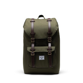 Herschel Supply Co. Herschel Little America Mid-Volume Backpack -  Color Ivy Green/Chicory Coffee
