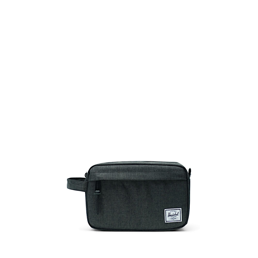 Herschel Chapter Dopp Bag - Black Crosshatch