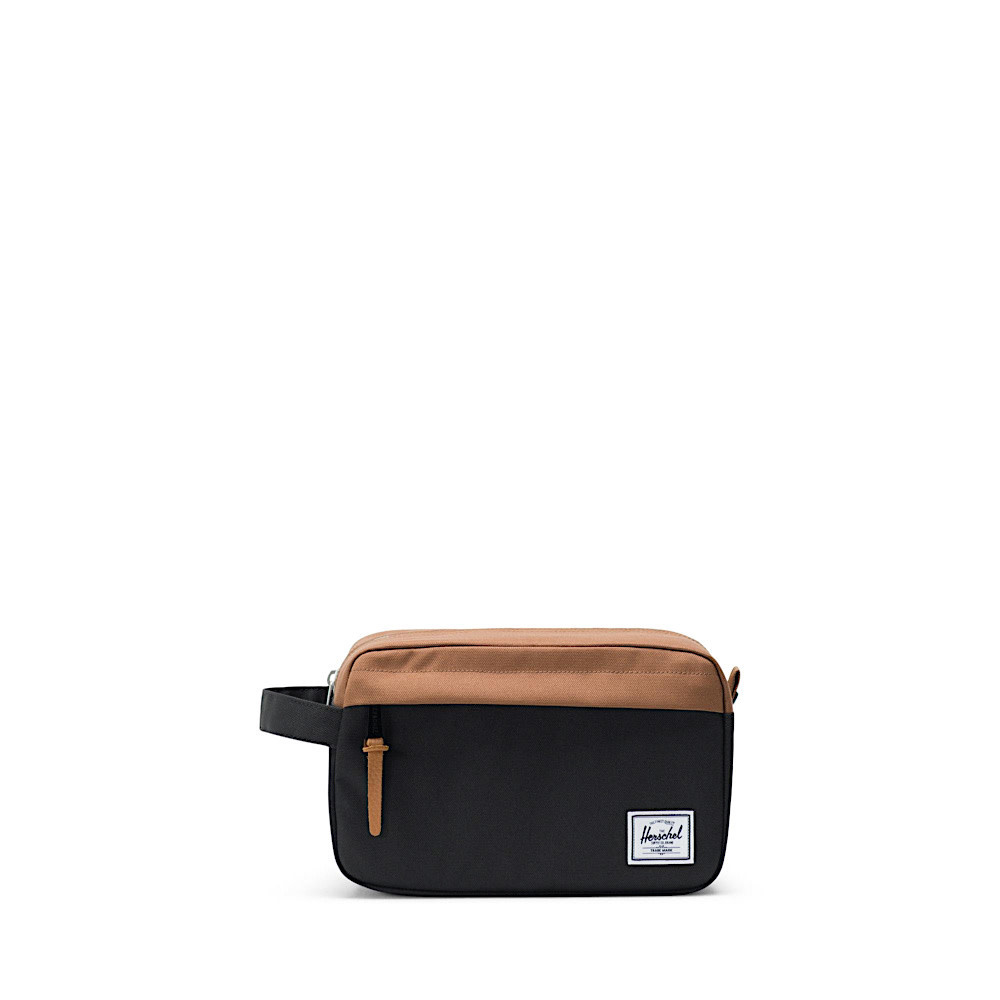 Herschel Supply Co. Herschel Chapter Dopp Bag - Black/Saddle Brown