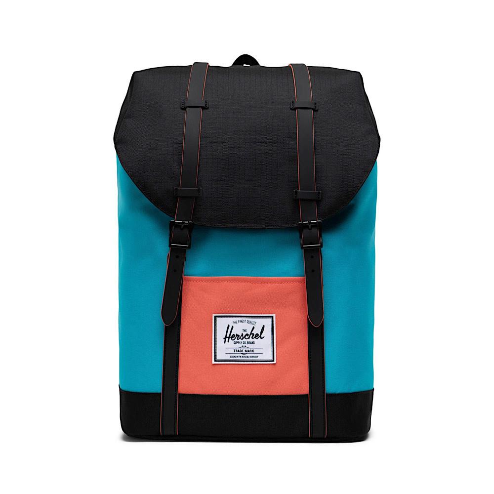 Herschel Supply Co. Herschel Retreat Backpack - Blue Bird/Black/Ember